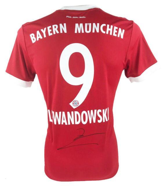 Signed Robert Lewandowski Jersey Fc Bayern Munich Icon +coa