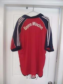 67b9db9a26f Two Fc Bayern Munich (munchen) Adidas Jerseys. Men s Xxl. T-mobile + Opel