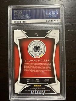 Thomas Muller 2015 Panini Select Soccer Purple Prizm /99 Psa 10 Pop 1