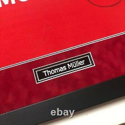 Thomas Muller Signed FRAMED 2020 Champions League Bayern MUNICH JERSEY AFTAL COA