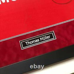 Thomas Muller Signed & FRAMED Bayern MUNICH JERSEY Champions League AFTAL COA FT