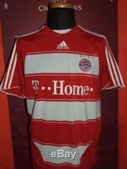 Toni 2008/2009 Bayern Munchen Maglia Shirt Calcio Football Maillot Jersey Soccer