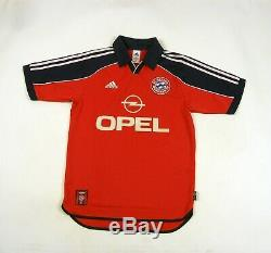 Trikot Bayern Munich 1999/01 Home Munchen Football Shirt Jersey Janker