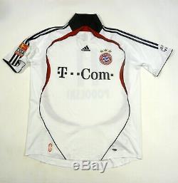 Trikot Bayern Munich 2006 / 2007 Away Football Shirt Munchen Jersey Podolski