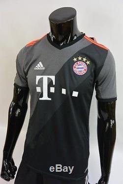 on sale 05774 f0ace Us/ Adidas Bayern München Munich 2016-2017 Away Jersey Shirt ...
