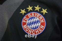 US/ adidas Bayern München Munich 2016-2017 Away Jersey Shirt LEWANDOWSKI SIZE S