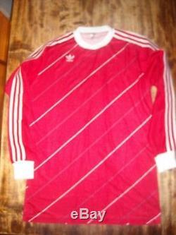 VINTAGE ADIDAS BAYERN MUNCHEN FOOTBALL SHIRT USA 1984 JERSEY MAGLIA Match worn