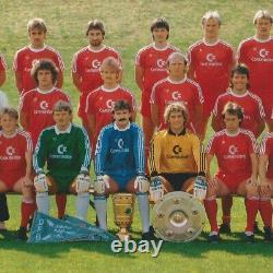 VTG Mens Adidas BAYERN MUNICH 1985 Sz L FOOTBALL SHIRT SOCCER JERSEY LONGSLEEVE