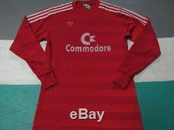 Vintage 1984-1986 FC Bayern Munchen Munich Adidas Soccer Jersey Shirt Medium