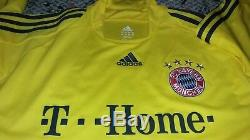 Vintage 2008 Authentic Game Worn MICHAEL RENSING BAYERN MUICH Soccer Jersey fifa