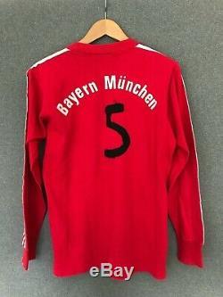 Vintage 80s Bayern Munich adidas Erica Iveco magirus 1980-82 jersey