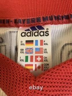 Vintage 90s FC Bayern Munich Opel Adidas Mens XXL Soccer Jersey