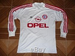 pretty nice 47c1f 9343a Vintage Adidas Bayern Munich 1989 1990 Football Shirt Away L ...