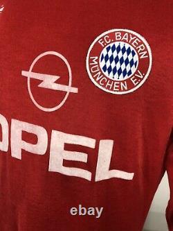 Vintage Adidas 80s F. C. Bayern Munich Munchen E. V. L/S Jersey Men's M/L Soccer