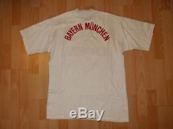 Vintage Adidas BAYERN MUNICH 1989-91 away football shirt jersey size D7/8