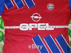Vintage Adidas Bayern Munchen Football Team 1992/1993 Home Jersey Shirt L