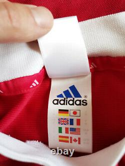 Vintage Adidas Bayern Munich Munchen Football Jersey 2000-2001 Home Trikot Sz M