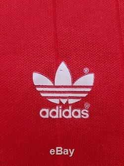 Vintage Adidas Shirt Jersey Red Yugoslavia Long Sleeve Bayern Munich Template