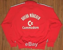 Vintage Authentic Adidas Bayern Munchen Commodore Jersey Jacket Fifa World Cup L