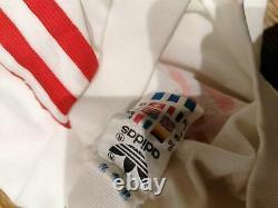 Vintage Bayern Munchen 1987 1988 Away Shirt Adidas trikot l/s jersey size XL
