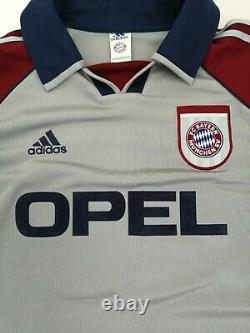 Vintage Bayern Munchen 1998/1999 Jeremies Jens Adidas Jersey Size XL Off Replica