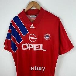 Vintage Bayern Munich 1991/93 Original Shirt Jersey Adidas Equipment M 38/40