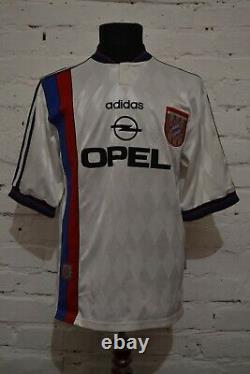 Vintage Bayern Munich Away Football Shirt 1995/1996 Soccer Jersey Trikot Mens M