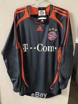 Vintage NEW FC Bayern Munich Adidas Soccer Jersey Shirt Goalkeeper 2006 Dreher