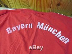Vintage Shirt Football Soccer Jersey Adidas Iveco Magirus Bayern Munich 1980s