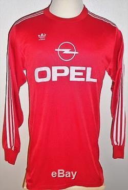 Vtg Adidas Germany Bayern Munich Munchen Effenberg Soccer Jersey Football Shirt