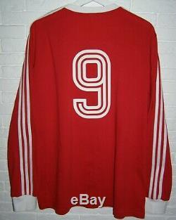 XL Trikot European Cup Final 1975 Bayern München Munich Shirt Müller 9 Jersey