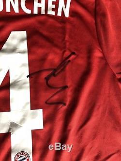 Xabi Alonso Signed Shirt/Jersey Bayern Munich