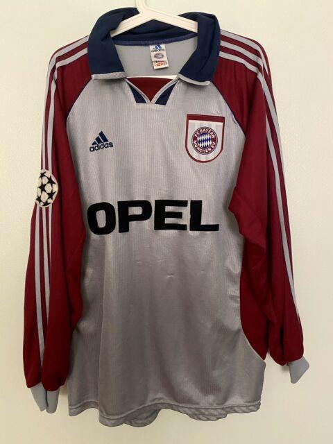 Zickler, 98-99 Bayern Munich Ls Away Ucl Match Un Worn Shirt